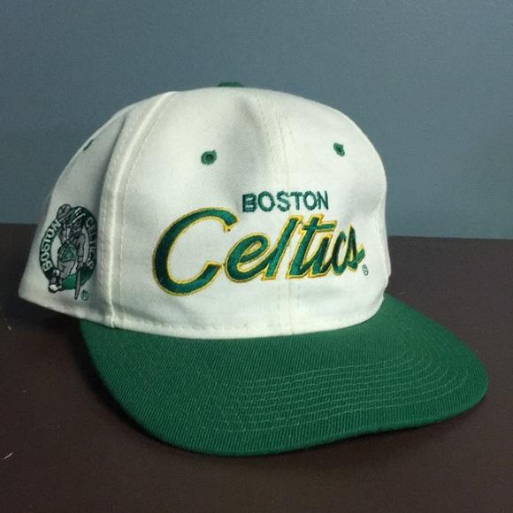Vintage Celtics Baseball hat. M 5ae70909caab4498302d9065 c336303f7f6